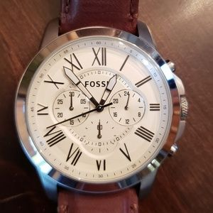Pre owned Fossil men watch